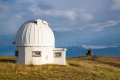 Θόλος παρατηρητήριων στο Gerlitzen Apls στην Αυστρία Στοκ φωτογραφία με δικαίωμα ελεύθερης χρήσης