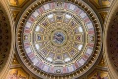 Θόλος τέχνης στεγών βασιλικών Αγίου Stephen Στοκ Φωτογραφίες
