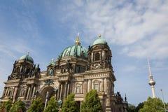 Θόλος του Βερολίνου, πύργος TV, Γερμανία Στοκ εικόνα με δικαίωμα ελεύθερης χρήσης