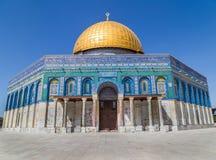 Θόλος του βράχου Ιερουσαλήμ Ισραήλ στοκ εικόνες