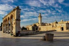 Θόλος του βράχου στην Ιερουσαλήμ στοκ φωτογραφία με δικαίωμα ελεύθερης χρήσης