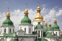 Θόλος του καθεδρικού ναού του ST Sophia στο Κίεβο. Ουκρανία Στοκ Εικόνες