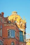 Θόλος του κτηρίου Hospital de Sant Πάου στη Βαρκελώνη Στοκ Φωτογραφίες