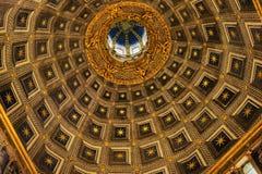 Θόλος του Di Σιένα Duomo Στοκ Φωτογραφίες