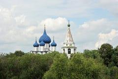 Θόλος των παλαιών εκκλησιών Στοκ Φωτογραφία
