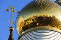 θόλος χρυσός Στοκ φωτογραφίες με δικαίωμα ελεύθερης χρήσης
