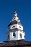 Θόλος Annapolis Μέρυλαντ της Μέρυλαντ Capitol Στοκ Εικόνα