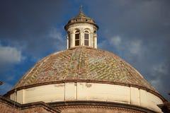 Θόλος Iglesia de Λα Compania σε Cusco Στοκ φωτογραφίες με δικαίωμα ελεύθερης χρήσης