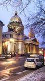 θόλος Isaac Πετρούπολη Ρωσία s Άγιος ST καθεδρικών ναών Στοκ εικόνες με δικαίωμα ελεύθερης χρήσης