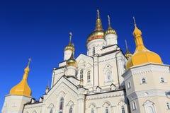 Θόλος Lavra Pochaev Στοκ Φωτογραφίες