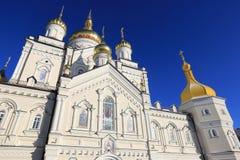 Θόλος Lavra Pochaev Στοκ φωτογραφίες με δικαίωμα ελεύθερης χρήσης