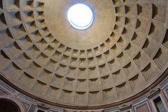 Θόλος Pantheon - καταπληκτική Ρώμη, Ιταλία Στοκ φωτογραφία με δικαίωμα ελεύθερης χρήσης