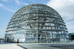 Θόλος Reichstag στοκ φωτογραφία με δικαίωμα ελεύθερης χρήσης