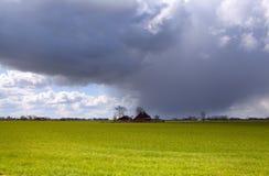 θύελλα αγροτικών σπιτιών Στοκ φωτογραφίες με δικαίωμα ελεύθερης χρήσης