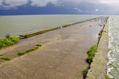 θύελλα θάλασσας αποβα&th Στοκ εικόνα με δικαίωμα ελεύθερης χρήσης