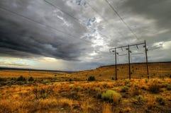 θύελλα ισχύος Στοκ Εικόνες