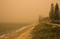 θύελλα σκόνης Στοκ Εικόνες