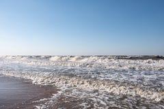 Θύελλα στη θάλασσα Azov στοκ εικόνες με δικαίωμα ελεύθερης χρήσης
