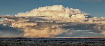 Θύελλα στις Midwest πεδιάδες στοκ φωτογραφία