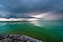 θύελλα σύννεφων προσέγγι& Στοκ Φωτογραφίες