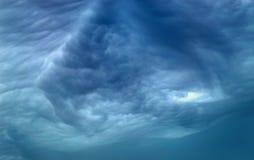 θύελλα σύννεφων Στοκ Εικόνες