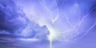 Θύελλα αστραπής Στοκ φωτογραφία με δικαίωμα ελεύθερης χρήσης