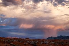 Θύελλα ερήμων στοκ φωτογραφίες με δικαίωμα ελεύθερης χρήσης