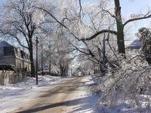 Θύελλα πάγου Στοκ φωτογραφία με δικαίωμα ελεύθερης χρήσης