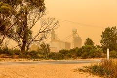 Θύελλα σκόνης στοκ εικόνες με δικαίωμα ελεύθερης χρήσης