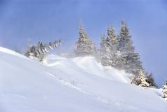 Θύελλα στα βουνά Στοκ φωτογραφία με δικαίωμα ελεύθερης χρήσης