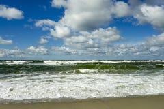 Θύελλα στη θάλασσα της Βαλτικής Στοκ Εικόνες