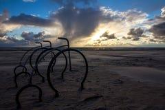 Θύελλα στο ηλιοβασίλεμα στοκ φωτογραφία