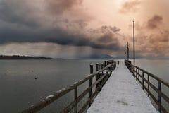 Θύελλα στο herrenchiemsee Στοκ φωτογραφία με δικαίωμα ελεύθερης χρήσης