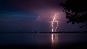 Θύελλα φωτισμού Στοκ Εικόνες