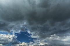 Θύελλα cloudscape Στοκ Φωτογραφίες