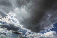 Θύελλα cloudscape Στοκ Εικόνες