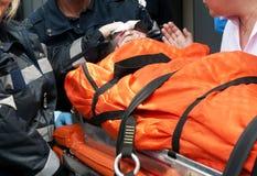 θύμα ατυχήματος Στοκ Φωτογραφίες