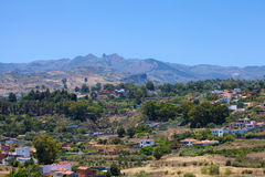 Θλγραν θλθαναρηα, Barranco de Santa Brigida στοκ φωτογραφίες με δικαίωμα ελεύθερης χρήσης