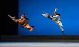 """Θλφαηρθχηλδ των ελαφιών και του γερανού - το δεύτερο πράξη-Kunqu Opera""""Madame άσπρο Snake† Στοκ Φωτογραφίες"""