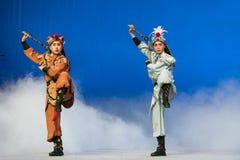 """Θλφαηρθχηλδ των ελαφιών και του γερανού - το δεύτερο πράξη-Kunqu Opera""""Madame άσπρο Snake† Στοκ Εικόνα"""