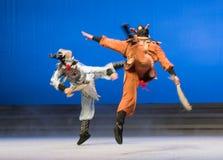 """Θλφαηρθχηλδ των ελαφιών και του γερανού - το δεύτερο πράξη-Kunqu Opera""""Madame άσπρο Snake† Στοκ Φωτογραφία"""
