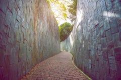 διάβαση πεζών πάρκων Στοκ Φωτογραφίες