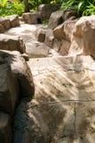 διάβαση πεζών πετρών κήπων Στοκ φωτογραφίες με δικαίωμα ελεύθερης χρήσης