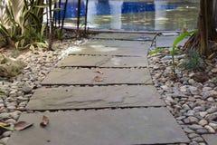 διάβαση πεζών στην πισίνα Στοκ Εικόνες