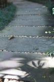 διάβαση πεζών στο πάρκο κήπων Στοκ Εικόνες