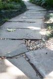 διάβαση πεζών στο πάρκο κήπων Στοκ Φωτογραφίες
