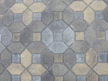 διάβαση πεζών τούβλου Στοκ εικόνα με δικαίωμα ελεύθερης χρήσης