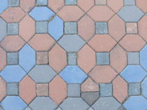 διάβαση πεζών τούβλου Στοκ Φωτογραφίες