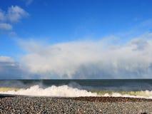 διάβαση της θύελλας Στοκ Εικόνες