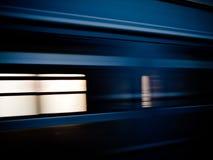διάβαση του τραίνου Στοκ Εικόνα